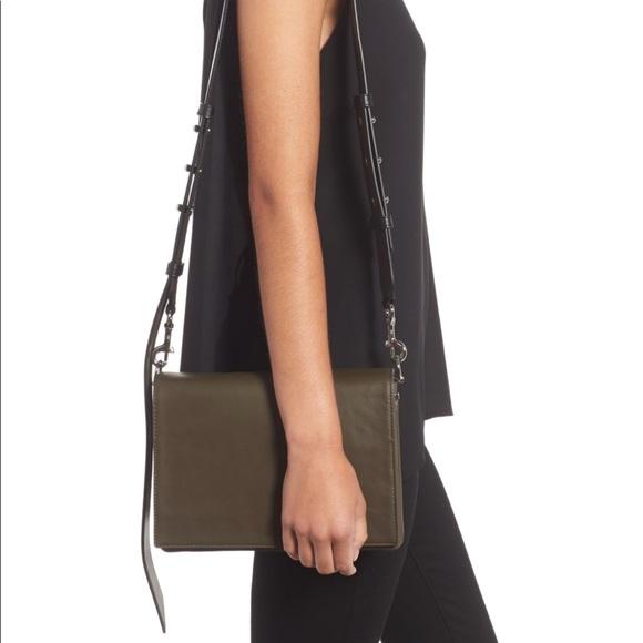 c045a2caea58 All Saints Handbags - ALLSAINTS Zep Lambskin Leather Box Bag